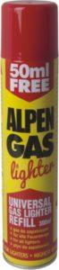 Gaz do zapalniczek 168 g
