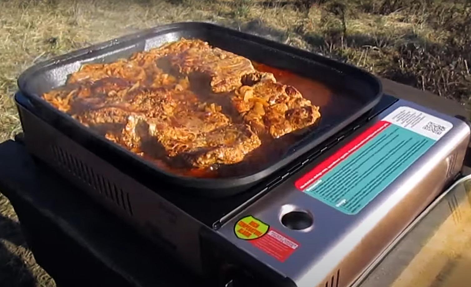 Grill na kartusze gazowe SIERRA